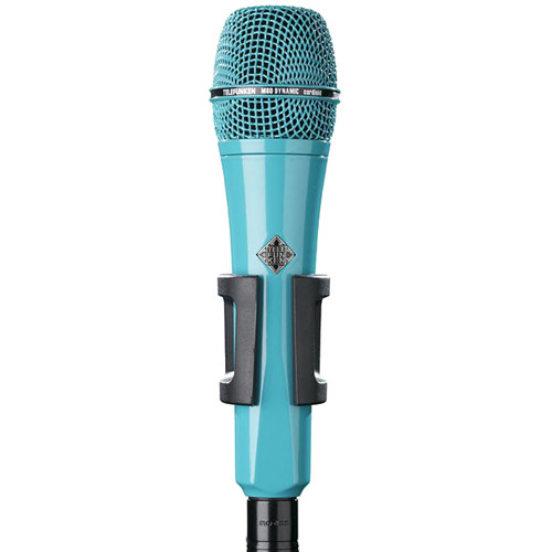 Telefunken M80 Custom Handheld Supercardioid Dynamic Microphone (Turquoise Body, Turquoise Grille)