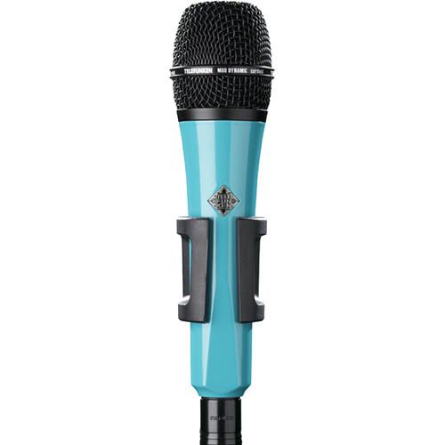 Telefunken M80 Custom Handheld Supercardioid Dynamic Microphone (Turquoise Body, Black Grille)