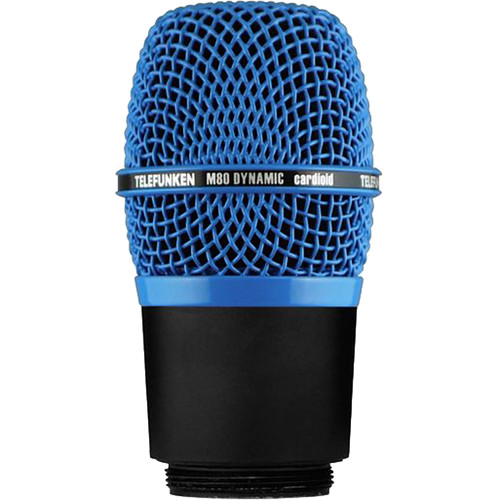 Telefunken M80-WH Wireless Supercardioid Dynamic Microphone Capsule (Blue)