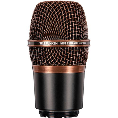 Telefunken M80-WH Wireless Supercardioid Dynamic Microphone Capsule (Copper)