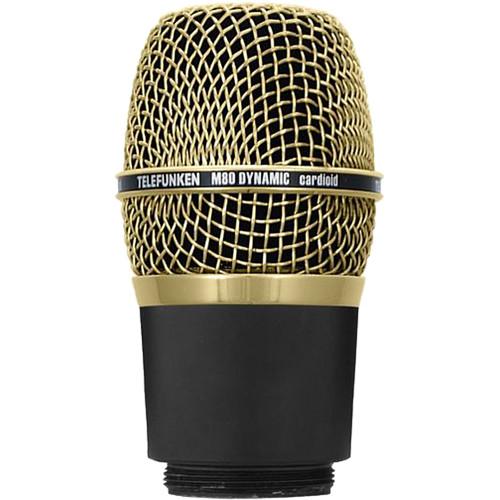 Telefunken M80-WH Wireless Supercardioid Dynamic Microphone Capsule (Gold)