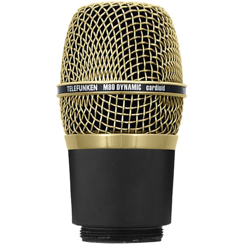 Telefunken M80-WH Wireless Supercardioid Dynamic Microphone Capsule (Gold)