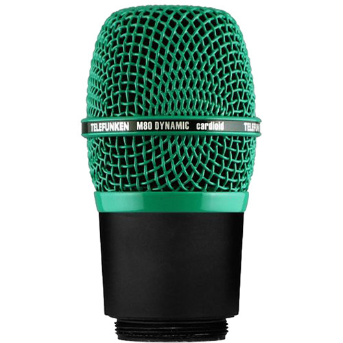 Telefunken M80-WH Wireless Supercardioid Dynamic Microphone Capsule (Green)