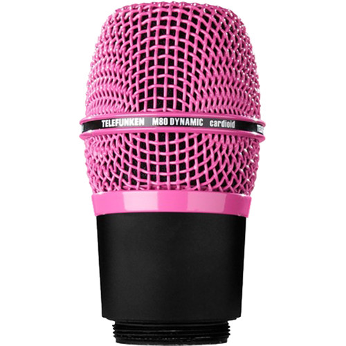 Telefunken M80-WH Wireless Supercardioid Dynamic Microphone Capsule (Pink)