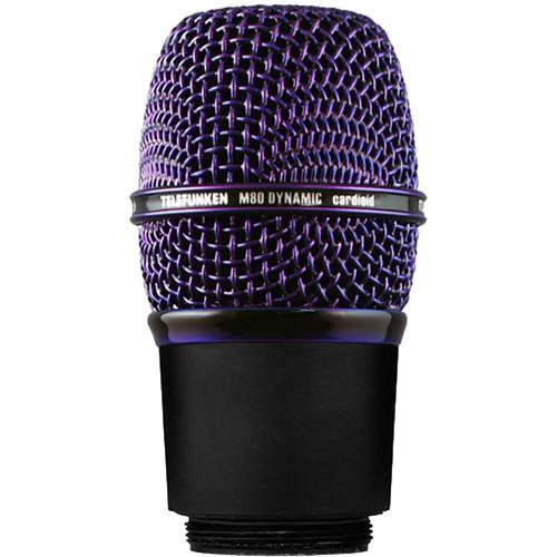 Telefunken M80-WH Wireless Supercardioid Dynamic Microphone Capsule (Purple)