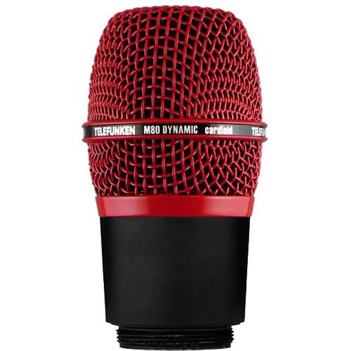 Telefunken M80-WH Wireless Supercardioid Dynamic Microphone Capsule (Red)