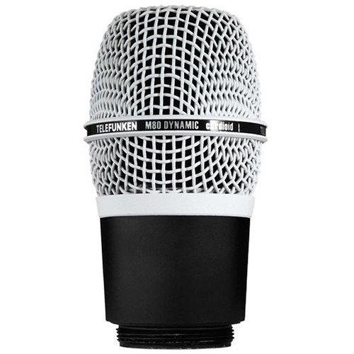 Telefunken M80-WH Wireless Supercardioid Dynamic Microphone Capsule (White)