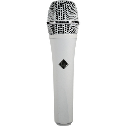 Telefunken M80 Custom Handheld Supercardioid Dynamic Microphone (White Body, White Grille)