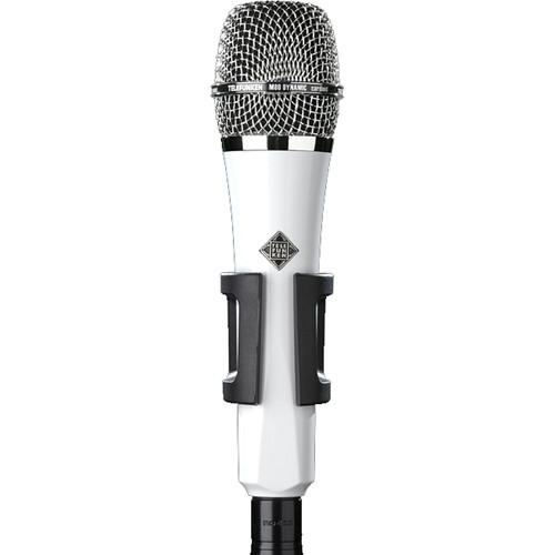 Telefunken M80 Custom Handheld Supercardioid Dynamic Microphone (White Body, Chrome Grille)
