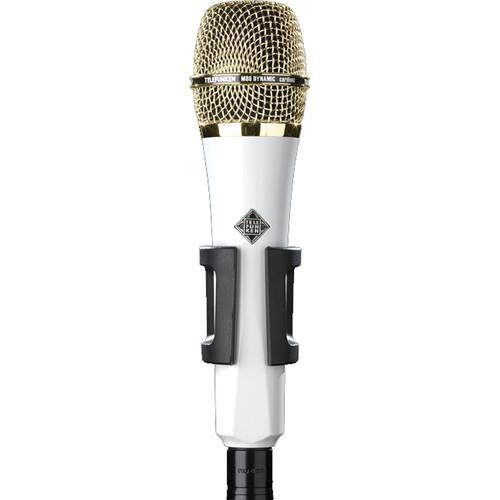 Telefunken M80 Custom Handheld Supercardioid Dynamic Microphone (White Body, Gold Grille)