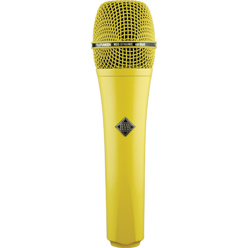 Telefunken M80 Custom Dynamic Handheld Microphone (Yellow)