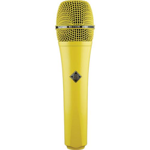Telefunken M80 Custom Dynamic Handheld Microphone (Yellow)