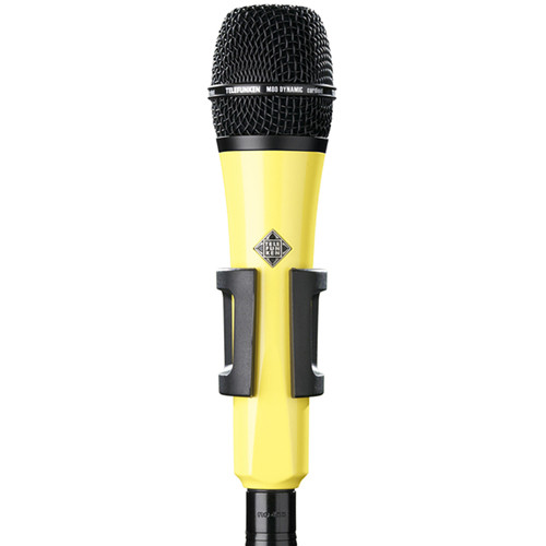 Telefunken M80 Custom Handheld Supercardioid Dynamic Microphone (Yellow Body, Black Grille)