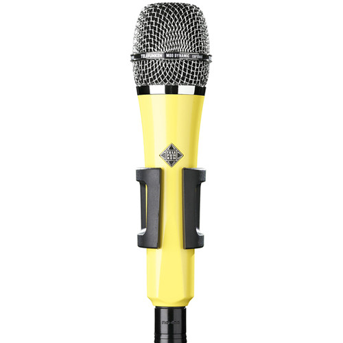 Telefunken M80 Custom Handheld Supercardioid Dynamic Microphone (Yellow Body, Chrome Grille)