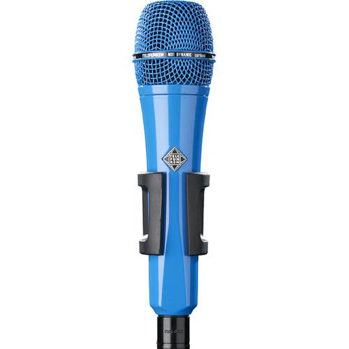 Telefunken M81 Custom Handheld Supercardioid Dynamic Microphone (Blue Body, Blue Grille)