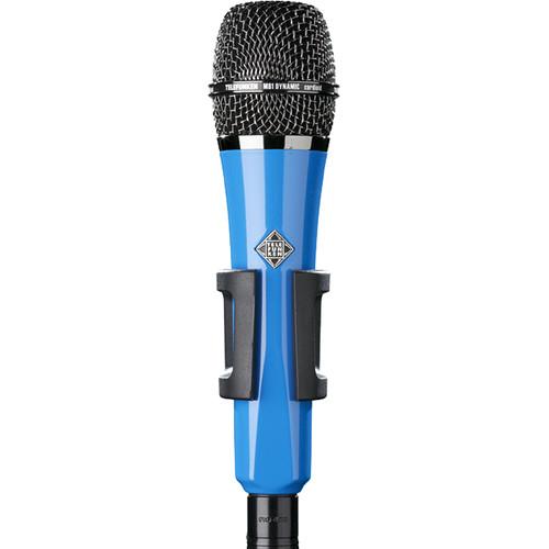 Telefunken M81 Custom Handheld Supercardioid Dynamic Microphone (Blue Body, Black Grille)