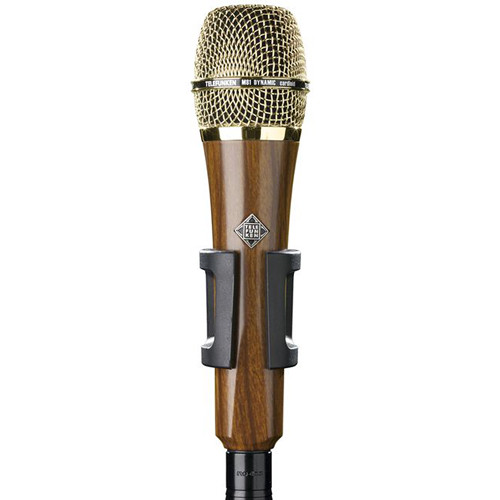 Telefunken M81 Custom Handheld Supercardioid Dynamic Microphone (Cherry Wood Body, Gold Grille)