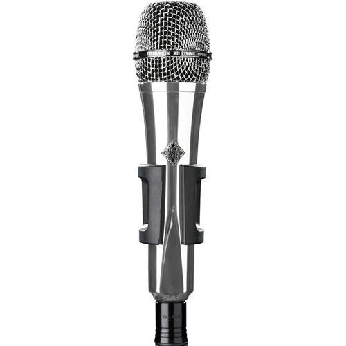 Telefunken M81 Custom Handheld Supercardioid Dynamic Microphone (Chrome Body, Chrome Grille)