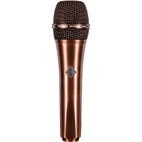 Telefunken M81 Custom Handheld Supercardioid Dynamic Microphone (Copper Body, Copper Grille)