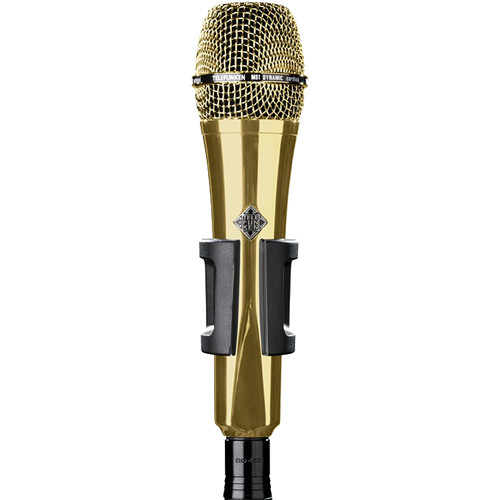 Telefunken M81 Custom Handheld Supercardioid Dynamic Microphone (Gold Body, Gold Grille)