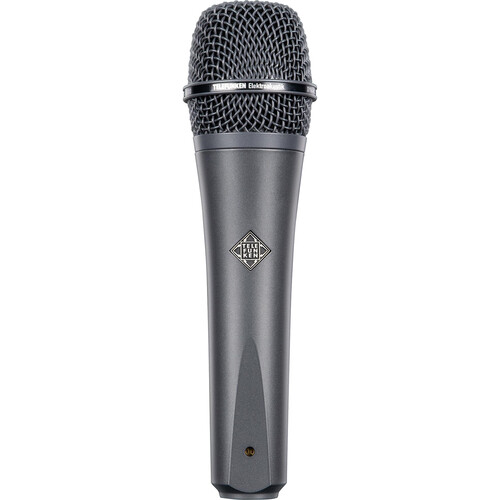 Telefunken M81 Custom Handheld Supercardioid Dynamic Microphone (Gray Body, Gray Grille)
