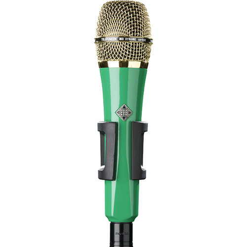 Telefunken M81 Custom Handheld Supercardioid Dynamic Microphone (Green Body, Gold Grille)