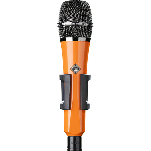 Telefunken M81 Custom Handheld Supercardioid Dynamic Microphone (Orange Body, Black Grille)