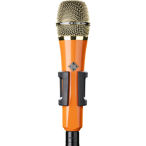 Telefunken M81 Custom Handheld Supercardioid Dynamic Microphone (Orange Body, Gold Grille)