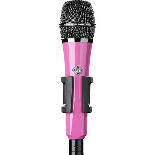 Telefunken M81 Custom Handheld Supercardioid Dynamic Microphone (Pink Body, Black Grille)