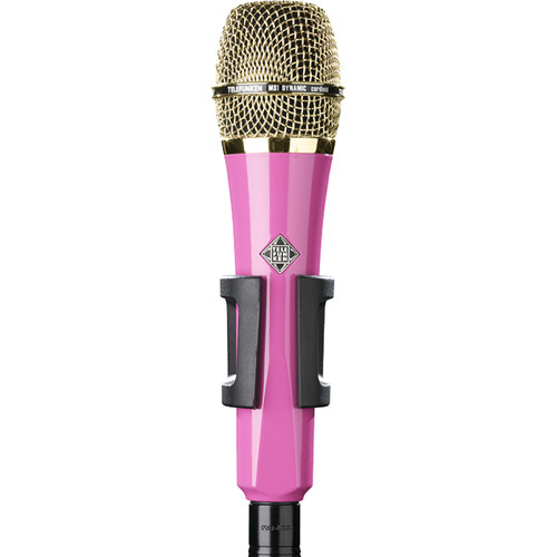 Telefunken M81 Custom Handheld Supercardioid Dynamic Microphone (Pink Body, Gold Grille)