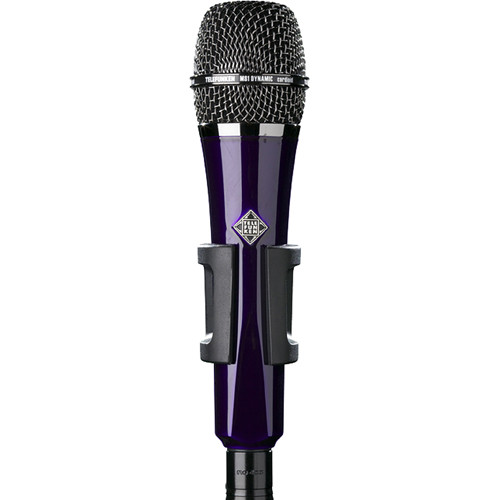 Telefunken M81 Custom Handheld Supercardioid Dynamic Microphone (Purple Body, Black Grille)