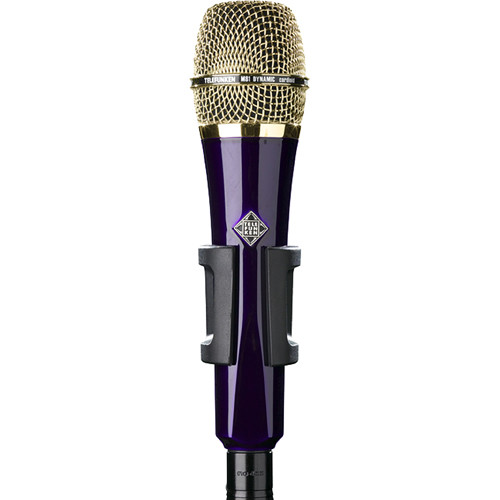 Telefunken M81 Custom Handheld Supercardioid Dynamic Microphone (Purple Body, Gold Grille)
