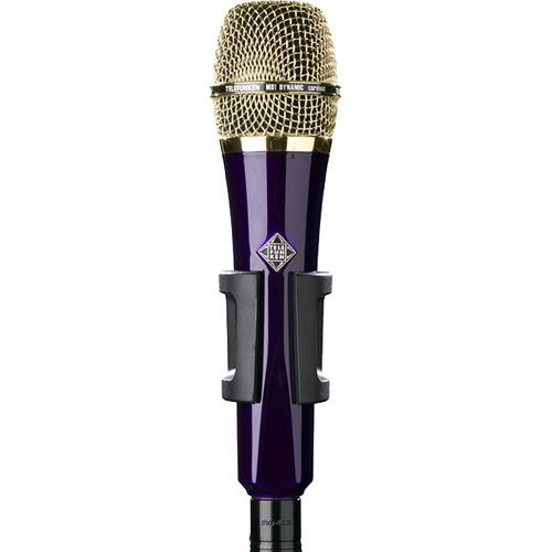 Telefunken M81 Custom Handheld Supercardioid Dynamic Microphone (Purple Body, Gold Grille)