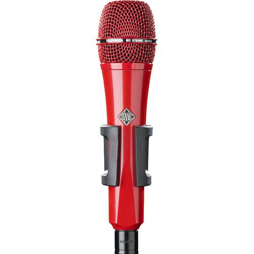 Telefunken M81 Custom Handheld Supercardioid Dynamic Microphone (Red Body, Red Grille)