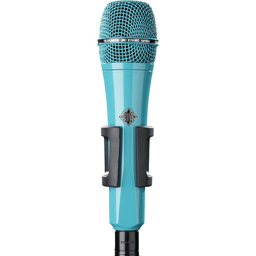 Telefunken M81 Custom Handheld Supercardioid Dynamic Microphone (Turquoise Body, Turquoise Grille)