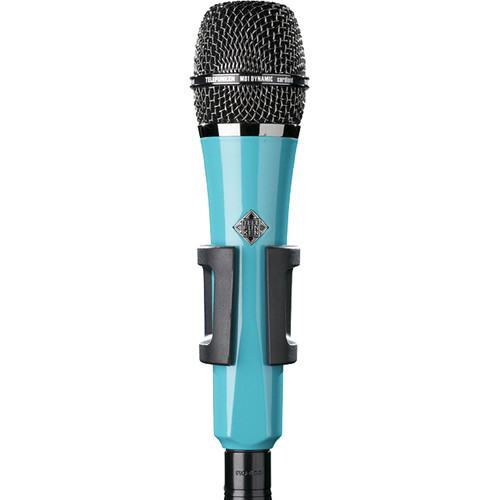 Telefunken M81 Custom Handheld Supercardioid Dynamic Microphone (Turquoise Body, Black Grille)