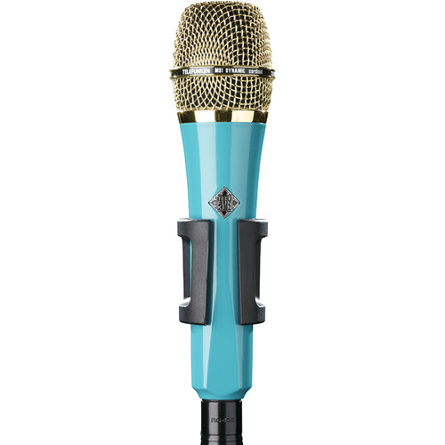 Telefunken M81 Custom Handheld Supercardioid Dynamic Microphone (Turquoise Body, Gold Grille)