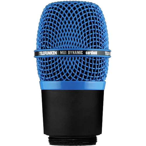 Telefunken M81-WH Wireless Supercardioid Universal Dynamic Microphone Capsule (Blue)