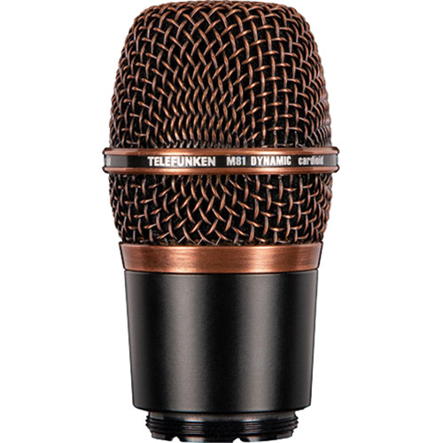 Telefunken M81-WH Wireless Supercardioid Universal Dynamic Microphone Capsule (Copper)