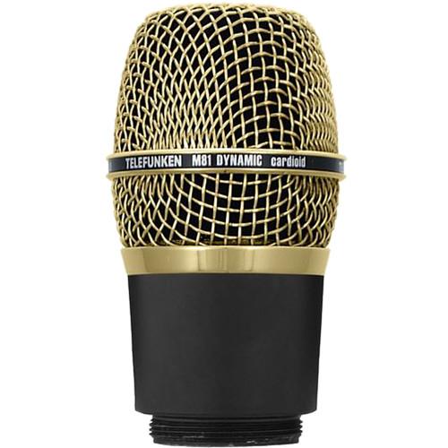 Telefunken M81-WH Wireless Supercardioid Universal Dynamic Microphone Capsule (Gold)