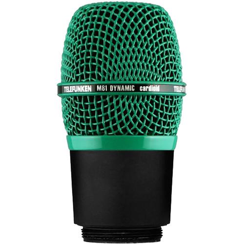 Telefunken M81-WH Wireless Supercardioid Universal Dynamic Microphone Capsule (Green)