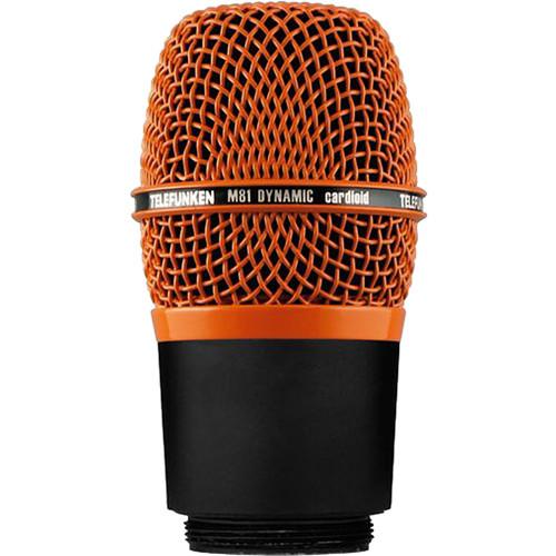 Telefunken M81-WH Wireless Supercardioid Universal Dynamic Microphone Capsule (Orange)