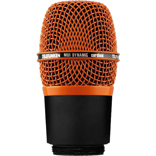 Telefunken M81-WH Wireless Supercardioid Universal Dynamic Microphone Capsule (Orange)