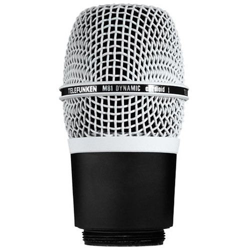 Telefunken M81-WH Wireless Supercardioid Universal Dynamic Microphone Capsule (White)