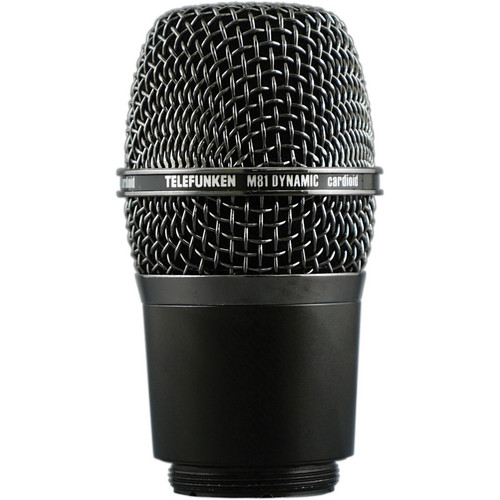 Telefunken M81-WH Wireless Supercardioid Universal Dynamic Microphone Capsule (Gray)