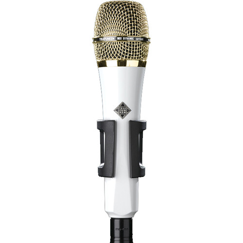 Telefunken M81 Custom Handheld Supercardioid Dynamic Microphone (White Body, Gold Grille)