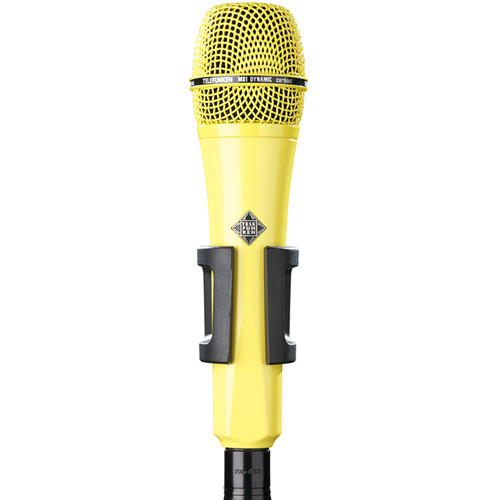 Telefunken M81 Custom Handheld Supercardioid Dynamic Microphone (Yellow Body, Yellow Grille)