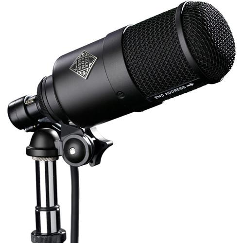 Telefunken M82-BP Cardioid Dynamic Kick-Drum Microphone with Shockmount & Boom Arm