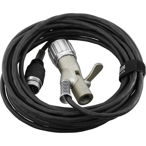 Telefunken 25' Accusound CX-7 Quad-Shielded Cable with Microphone Stand-Mount Swivel Connector