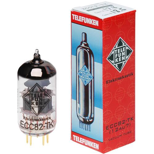 Telefunken ECC82-TK/12AU7 Black Diamond Series Vacuum Tubes (Matched Pair)